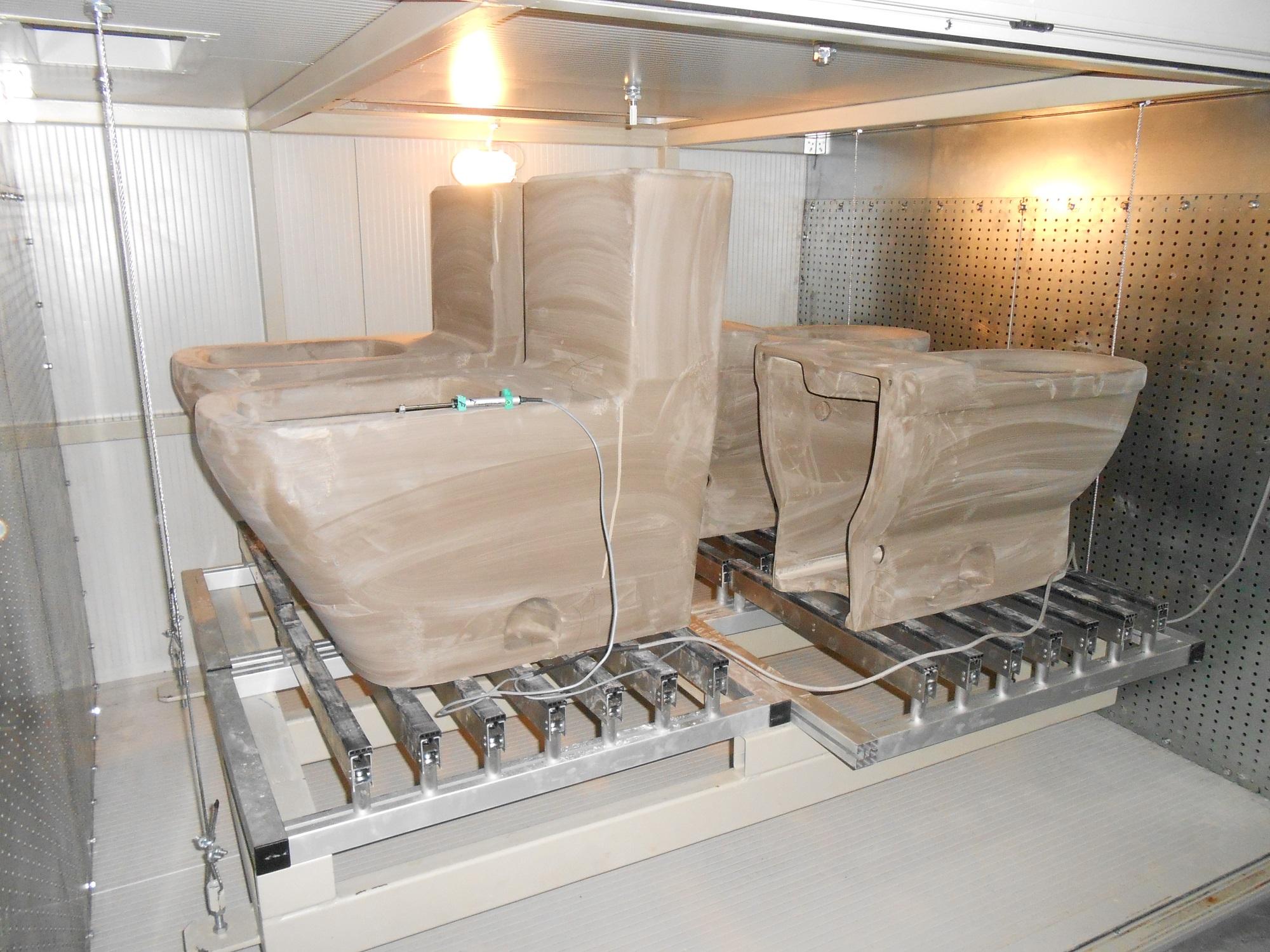 Dryer Test for Ceramic