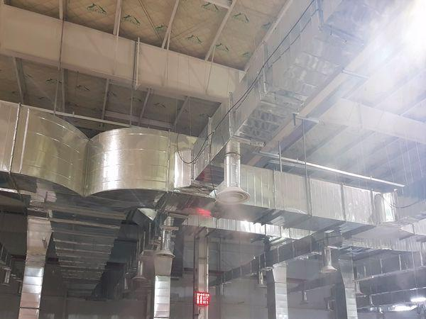 HUMIDIFICATION SYSTEM IN CAST SHOP