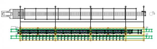 RETRACTABLE TUNNEL BENCH PLANT