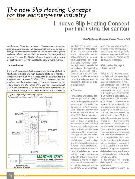 Marcheluzzo Ceramics design and product for Sanitaryware plants