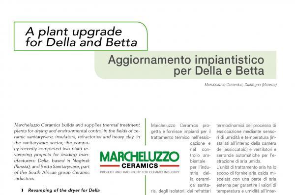 Mejora de planta para las empresas Della y Betta.