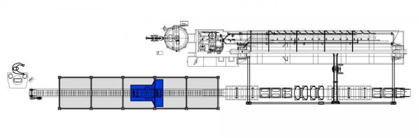 FIXED TUNNEL HIGH PRESSURE BENCH PLANT